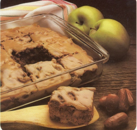 Apple Date Nut Cake