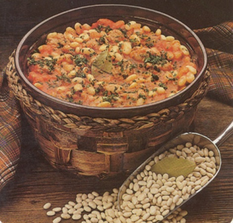 Savory Beans and Sausage