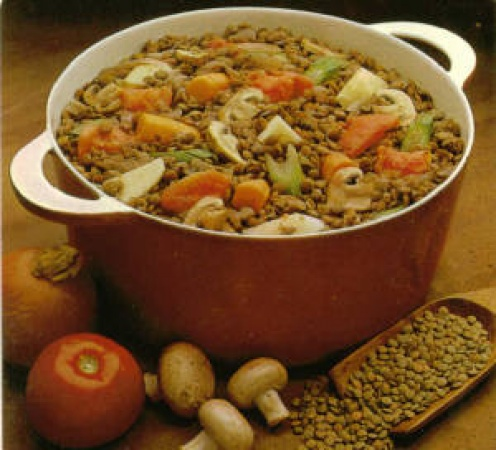Hearty Brown Vegetable Stew